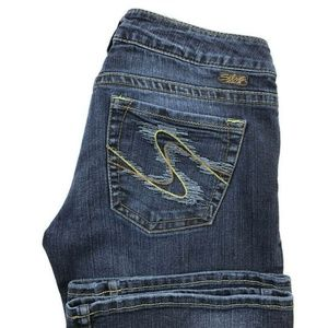 Silver Tuesday Bootcut Dark Wash Jeans